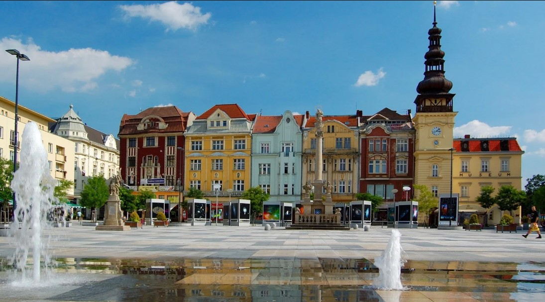 ostrava in Czech Republic